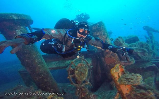 Wreck diving in may France Wrecks Cote Vermeille Catalane