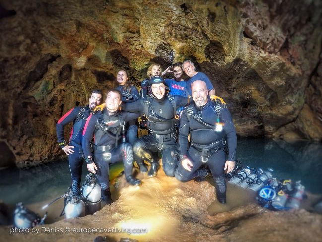 Iberia Cave Tour 2020 legendary cave diving in January Spain